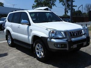 2008 Toyota Landcruiser Prado KDJ120R GXL White 5 Speed Automatic Wagon Morningside Brisbane South East Preview