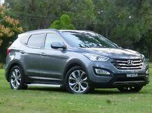 2012 Hyundai Santa Fe DM MY13 Highlander Silver 6 Speed Sports Automatic Wagon West Ballina Ballina Area Preview