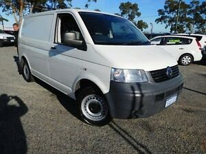 2008 Volkswagen Transporter T5 MY08 Crewvan Low Roof White 6 Speed Sports Automatic Van Pearsall Wanneroo Area Preview