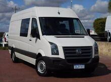 2010 Volkswagen Crafter 2EF1 MY10 35 High Roof LWB White 6 Speed Sports Automatic Van Spearwood Cockburn Area Preview