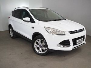 2013 Ford Kuga TF Trend PwrShift AWD White 6 Speed Sports Automatic Dual Clutch Wagon Mount Gambier Grant Area Preview