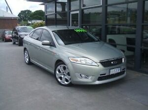 2008 Ford Mondeo MA XR5 Turbo Green 6 Speed Manual Hatchback Invermay Launceston Area Preview