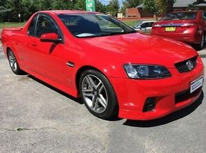 2011 Holden Ute VE II SS Red 6 Speed Sports Automatic Utility Wodonga Wodonga Area Preview