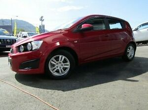 2014 Holden Barina TM MY14 CD Red 5 Speed Manual Hatchback Earlville Cairns City Preview