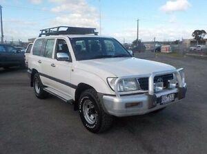 2000 Toyota Landcruiser White Manual Wagon Pakenham Cardinia Area Preview
