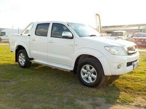 2011 Toyota Hilux White Automatic Utility Pakenham Cardinia Area Preview