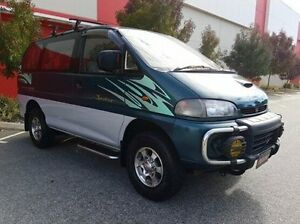 1997 Mitsubishi Delica Green Automatic VAN WAGON Cannington Canning Area Preview