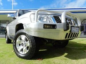 2007 Nissan Patrol GU 5 MY07 ST Silver 4 Speed Automatic Wagon Victoria Park Victoria Park Area Preview