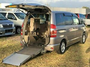 2003 Toyota Noah WELCAB Sloper Silver 4 Speed Automatic Wagon Taren Point Sutherland Area Preview
