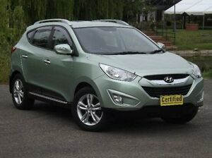2010 Hyundai ix35 LM Elite AWD Green 6 Speed Sports Automatic Wagon Old Reynella Morphett Vale Area Preview