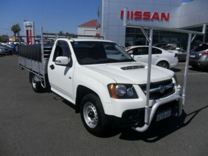 2008 Holden Colorado RC LX (4x4) White 5 Speed Manual Cab Chassis Mandurah Mandurah Area Preview