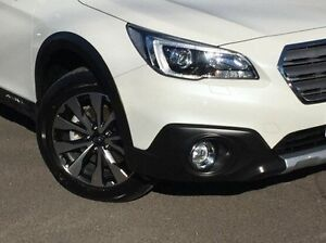 2015 Subaru Outback White Constant Variable Wagon