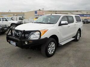 2012 Mazda BT-50 White Sports Automatic Utility Pakenham Cardinia Area Preview