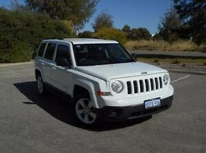 2013 Jeep Patriot MK MY2013 Sport CVT Auto Stick 4x2 White 6 Speed Constant Variable Wagon East Rockingham Rockingham Area Preview