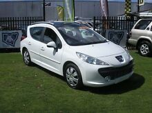 2008 Peugeot 207 A7 XT HDI White 5 Speed Manual Wagon Minto Campbelltown Area Preview