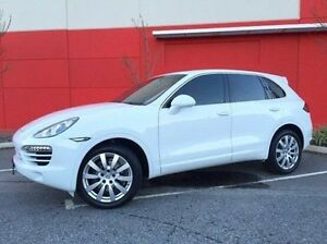 2012 Porsche Cayenne 92A MY13 Diesel Tiptronic White 8 Speed Sports Automatic Wagon Cannington Canning Area Preview