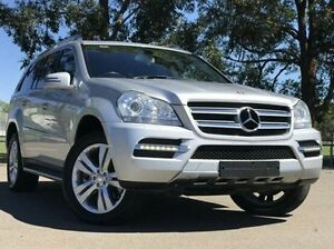 2012 Mercedes-Benz GL350 CDI X164 MY11 BlueEFFICIENCY Luxury Silver 7 Speed Sports Automatic Wagon Kings Park Blacktown Area Preview
