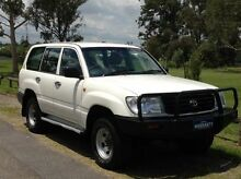 2000 Toyota Landcruiser HZJ105R (4x4) White 5 Speed Manual 4x4 Wagon Salisbury Brisbane South West Preview