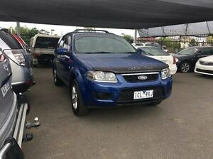 2010 Ford Territory SY Mkii TX Blue 4 Speed Sports Automatic Wagon Maidstone Maribyrnong Area Preview
