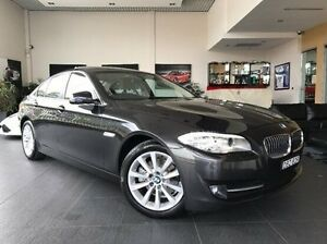 2013 BMW 520D F10 MY1112 Steptronic Grey 8 Speed Sports Automatic Sedan Summer Hill Ashfield Area Preview
