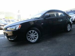 2009 Mitsubishi Lancer CJ MY10 RX Sportback Black 6 Speed Constant Variable Hatchback Earlville Cairns City Preview