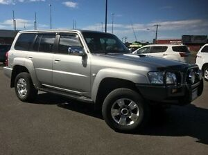 2005 Nissan Patrol GU IV MY05 ST Silver 5 Speed Manual Wagon Morwell Latrobe Valley Preview