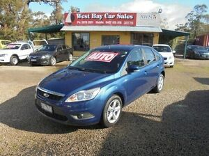 2010 Ford Focus Blue Sports Automatic Hatchback Hastings Mornington Peninsula Preview