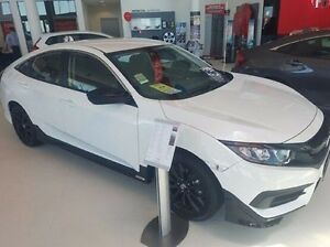 2016 Honda Civic MY16 VTi White Orchid Continuous Variable Sedan Wangara Wanneroo Area Preview