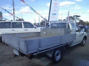 1993 Toyota Hilux White Manual Cab Chassis Carrum Downs Frankston Area Preview