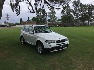 2008 BMW X3 E83 MY09 xDrive20d Steptronic Lifestyle White 6 Speed Automatic Wagon East Kempsey Kempsey Area Preview