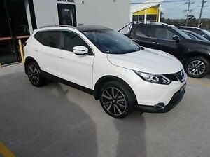2017 Nissan Qashqai J11 TI White 1 Speed Constant Variable Wagon Burwood Whitehorse Area Preview