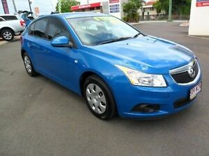 2012 Holden Cruze JH Series II MY12 CD Blue 5 Speed Manual Hatchback Gympie Gympie Area Preview