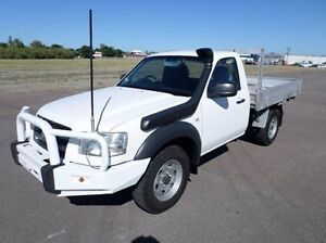 2008 Ford Ranger PJ XL White 5 Speed Manual Cab Chassis Hyde Park Townsville City Preview