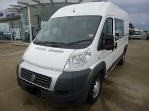 2013 Fiat Ducato White Manual Van Coburg North Moreland Area Preview