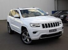 2013 Jeep Grand Cherokee WK MY2013 Overland White 5 Speed Sports Automatic Wagon Kings Park Blacktown Area Preview