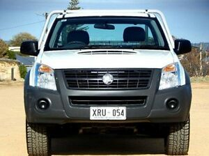 2008 Holden Rodeo RA MY08 DX White 5 Speed Manual Cab Chassis Christies Beach Morphett Vale Area Preview