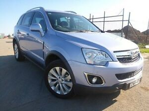2014 Holden Captiva CG MY15 5 LT Blue 6 Speed Sports Automatic Wagon Singleton Singleton Area Preview