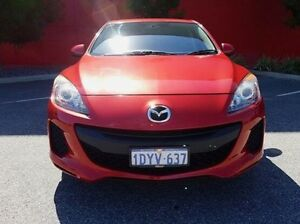 2012 Mazda 3 BL10F2 Neo Activematic Red 5 Speed Sports Automatic Sedan Cannington Canning Area Preview
