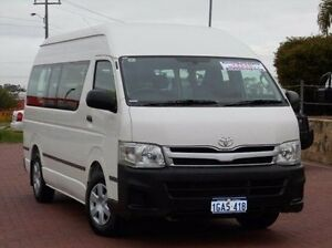 2011 Toyota Hiace KDH223R MY11 Commuter High Roof Super LWB White 4 Speed Automatic Bus Spearwood Cockburn Area Preview