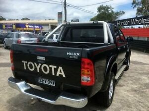 2009 Toyota Hilux GGN25R 09 Upgrade SR5 (4x4) Black 5 Speed Automatic Dual Cab Pick-up Sandgate Newcastle Area Preview