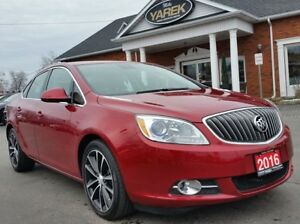2016 Buick Verano Sport Touring, Heated Seats, Back Up Cam, Sunr