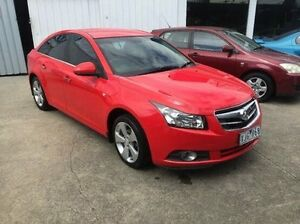 2009 Holden Cruze JG CDX Red 6 Speed Sports Automatic Sedan Maidstone Maribyrnong Area Preview