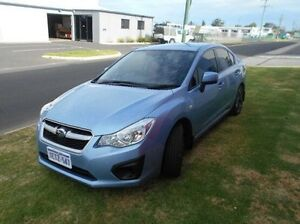 2012 Subaru Impreza G4 MY12 2.0i AWD Blue 6 Speed Manual Sedan Bunbury Bunbury Area Preview