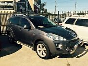 2010 Peugeot 4007 ST DCS Auto HDi Grey 6 Speed Sports Automatic Dual Clutch Wagon St James Victoria Park Area Preview