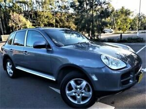 2004 Porsche Cayenne 9PA S Silver 6 Speed Sports Automatic Wagon Five Dock Canada Bay Area Preview