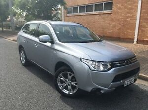 2013 Mitsubishi Outlander ZJ MY13 ES 4WD Silver 6 Speed Constant Variable Wagon Nailsworth Prospect Area Preview