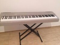Yamaha P-60 Piano Keyboard with 88 Weighted Keys - Good working order