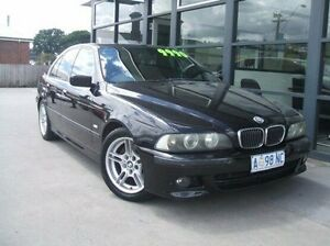 2003 BMW 535i E39 MY02 Sport Steptronic Black 5 Speed Sports Automatic Sedan Invermay Launceston Area Preview