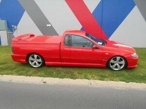 2004 Ford Performance Vehicles Pursuit BA Mk II Red Sports Automatic Utility Bunbury Bunbury Area Preview