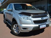 2012 Holden Colorado RG MY13 LTZ Space Cab Silver 5 Speed Manual Utility Gosnells Gosnells Area Preview